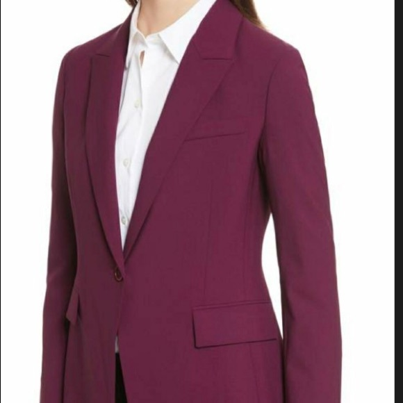 0bc9ca83d4 Theory Jackets & Coats | Etiennette B Jacket In Pink Currant 4 ...